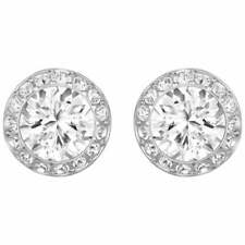 Swarovski Angelic Stud Earrings Rhodium Plated 1081942