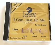 Daywind - Laura Story - I Can Just Be Me - accompaniment track christian cd new
