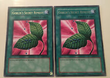 2 x RARE - GOBLIN'S SECRET REMEDY - LOB-E079 NEW YuGiOh