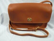 COACH VINTAGE COMPARTMENT BAG, 9322, USA, BRITISH TAN, NEW W/O TAGS