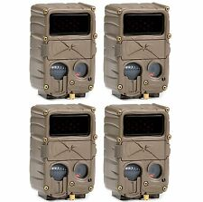 (4) CUDDEBACK E3 Black Flash No Glow Infrared Trail Game Hunting Cameras | 20MP