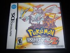 Replacement Case (NO GAME) Pokemon White Version 2 Nintendo DS NDS-Original Box