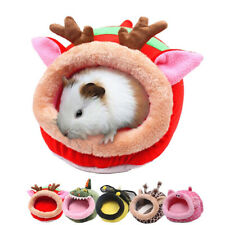 Soft Pet Cozy Guinea Pig Bed House Hamster Rat Hammock Nest Pad Small Animal Dl