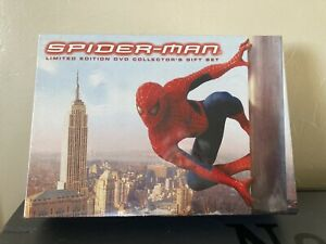 2002 Spider Man 2 DVD Disc Limited Edition Collectors Gift Set Box NEW SEALED