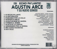 rare SALSA cd AGUSTIN ARCE y su nuevo sonido si echo pa lante FORMA EL BEMBE
