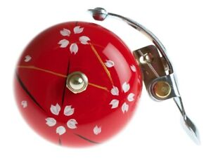 """CRANE Suzu Bicycle Bell : Hand painted in Japan : Traditional design """"Haru"""""""