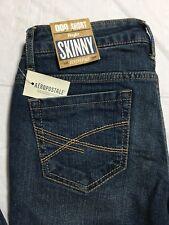 Aeropostale Skinny Jeans Size 000 Short Bayla Low Rise Distressed NWT