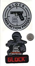 3X GLOCK PATCHES & DECAL FIREARMS RIFLE PISTOL GUNS SHOTGUN PATCH-MICHIGAN DEER