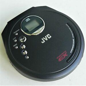 JVC PORTABLE CD PLAYER XL-PG37BK ANTI SHOCK HYPER BASS SOUND ~ BLACK VGC TESTED