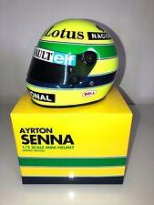 Ayrton senna 1985 Lotus 1/2 F1 Helmet rare 1:2
