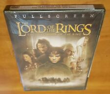 Lord of the Rings: Fellowship (DVD, Full Screen, 2002) lotr movie film 1 NEW