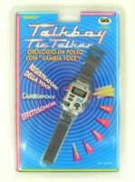 Tiger Talkboy watch tic talker game & watch handheld retrogames retroconsole