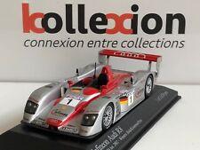 MINICHAMPS 400021301 AUDI R8 n°1 Vainqueur Le Mans 2002 1.43