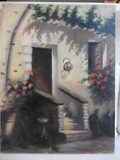 Tableau Vonty façade de maison 50 x 65,2 cm