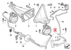 Genuine BMW Engine Mount Left E60 E61 E63 E64 525d 530d 535d 22116774619