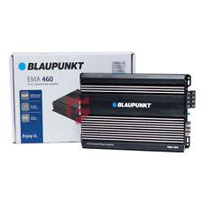 Blaupunkt EMA 460 Class AB 600 Watts 4-Channel Bridged Amplifier Features (New)