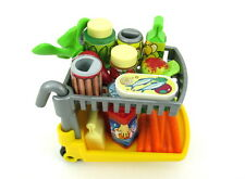 PLAYMOBIL~Dollhouse~Grocery Cart~Groceries~Food~Produce~Market~Store~City