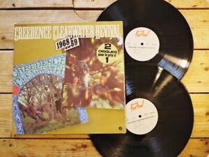 CREEDENCE CLEARWATER REVIVAL 1968 / 1969 2 LP VINYLE EX COVER EX ORIGINAL 1978