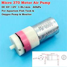 DC5V~12V 6V 9V Mini 370 Motor Air Pump Inflatable Oxygen Pump Aquarium Fish Tank
