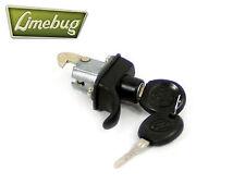 T1 1971-85 Beetle Black Engine Lid Lock Latch w/ Keys VW Beetle Volkswagen Bug