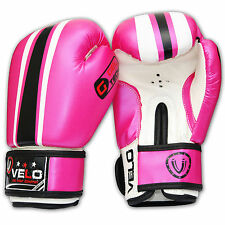 VELO 4oz Kids Boxing Gloves,Punch Bag Mitts Junior Children MMA Kick P4N