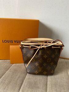 Louis Vuitton Nano Noe Bag Monogram NEW AUTHENTIC