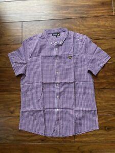 Lyle and Scott Short Sleeve Shirt XL