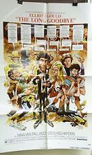 "VTG 1973 ""THE LONG GOODBYE"" US RELEASE ORIG 1SH 27X41 FILM POSTER ROBERT ALTMAN"