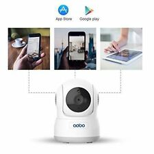 WiFi Camera 720P Home Wireless IP Security PanTilt Indoor Nanny Cam Night Vision
