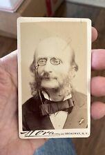 1860's cdv photo Jacques Offenbach composer empresario