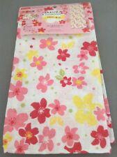 Tenugui Japanese Hand Towel SAKURA Cherry Blossoms White Lunch Box wrap F/S