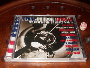PEARL HARBOR TRIBUTE THE BEST MUSIC OF WORLD WAR II Cd ..... New