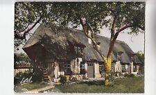 BF30900 en normandie une maison normande a toit de chaum france front/back image