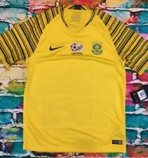 Nike South Africa National Soccer Jersey Mens Medium New w Tags Msrp $90