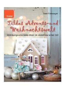TILDA  Buch Tildas Advents - und Weihnachtswelt Tone Finnanger Weihnachten