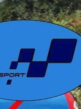 2 x renault sport stickers