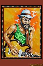 Gary Clark Jr.Texas Guitarist Print  Ltd. Ed.Signed and Numbered