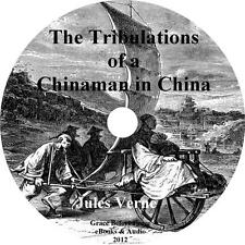 The Tribulations of a Chinaman in China, Jules Verne Audiobook on 1 MP3 CD