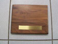 Brass Engravable Plaque Plates x 10