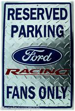 Parking Sign Ford Racing Fans Logo Nascar car truck motor engine body poster tag