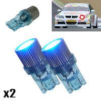 BMW 3 Series E46 330 Ci 501 W5W LED Superlux Blue Side Lights Upgrade Bulbs XE6