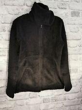 Black Teddy Sparkle Fleece Borg Jacket Autumn Winter Coat Walk BN UK 10 38