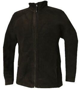 Mens Quality Fleece Jacket Full Zip Casual Warm Thick Outerwear size M / 5XL Top