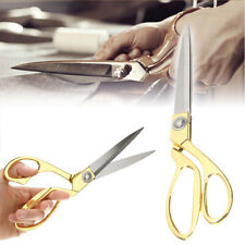 "10.5"" Stainless Steel Tailoring Scissors Dressmaking Shears Fabric Craft Cutting"