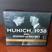 Munich 1938 Appeasement & World War II Audio Book CD Set David Faber Hitler