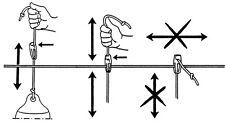 Fend-Fix Fender Halter Einhand Klemme für 4-8 mm Seil Tau