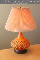 BEAUTIFUL MID CENTURY DANISH MODERN TABLE LAMP! 1950'S RAYMOR VTG CRESSEY 60'S