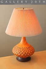 BEAUTIFUL MID CENTURY DANISH MODERN TABLE LAMP! 50s Raymor Vtg Cressey Era 60s