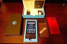 BlackBerry KEYone, 32GB Space Black GSM smartphone w/ 2 bonus cases + *free S&H*