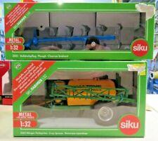 Siku Plough & Crop Spraying unit ref 2051 & 2563